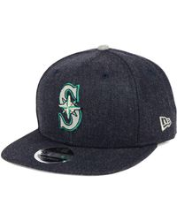 cheap for discount 041bd 60870 KTZ - Seattle Mariners Heather Hype 9fifty Snapback Cap - Lyst
