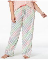 Hue - ® Plus Size Printed Pyjama Trousers - Lyst