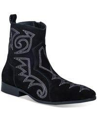 Dingo Brooks Side Zip Boot - Black