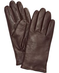 Charter Club Cashmere Lined Leather Tech Gloves, Only At Macy's - Multicolor