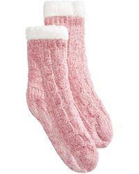 Charter Club - Chenille Slipper Socks, Created For Macy's - Lyst