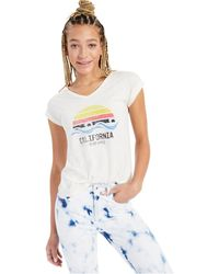 Style & Co. - California Waves Graphic T-shirt, Created For Macy's - Lyst