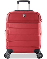"""Heys - Charge-a-weigh 21"""" Hybrid Carry-on Spinner Suitcase - Lyst"""