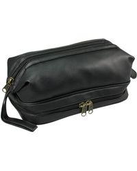 Dopp Jumbo Framed Travel Kit With Bonus Items - Black