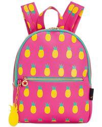Macy's Printed Mini Backpack - Pink