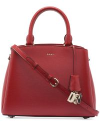 DKNY Paige Large Satchel - Red