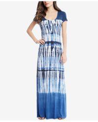 Karen Kane - Tie-dyed Maxi Dress - Lyst