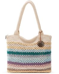 The Sak Crafted Essentials Crochet Large Tote, Created For Macy's - Multicolour