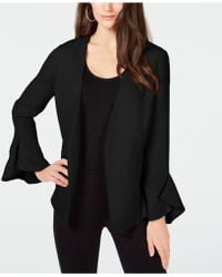 Alfani - Petite Flutter-sleeve Jacket, Created For Macy's - Lyst