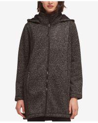 DKNY - Hooded Faux-fur-lined Jacket - Lyst