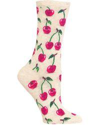 Hot Sox - Cherries Socks - Lyst