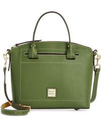 Dooney & Bourke - Beacon Domed Medium Smooth Leather Satchel - Lyst