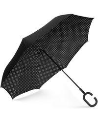 Shedrain Reverse Umbrella - Black