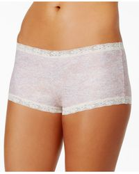 Maidenform - Microfiber Boyshort Underwear 40760 - Lyst