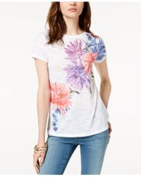 INC International Concepts - I.n.c. Printed Sequin-embellished T-shirt, Created For Macy's - Lyst