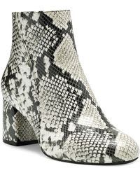 INC International Concepts - Farren Booties, Created For Macy's - Lyst
