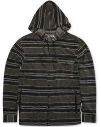 Billabong - Men's Striped Hoodie - Lyst