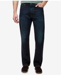 Lucky Brand Relaxed Straight-fit Jeans - Blue