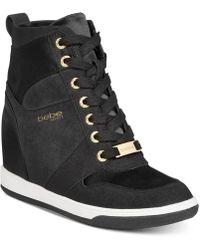 Bebe - Sport Charlane Wedge Sneakers - Lyst