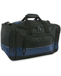 """Perry Ellis A322 22"""" Weekender Bag - Blue"""