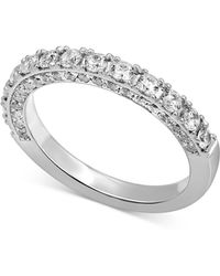 Macy's - Diamond Band (1 Ct. T.w.) In 14k White Gold - Lyst