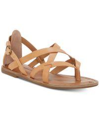 Lucky Brand - Ainsley Flat Sandal - Lyst