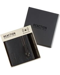 Kenneth Cole Reaction Men's Eldridge Rfid Slim Wallet - Black
