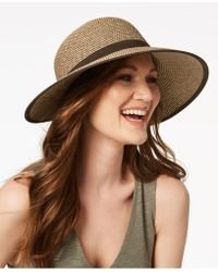 Nine West - Packable Brimless Floppy Hat - Lyst