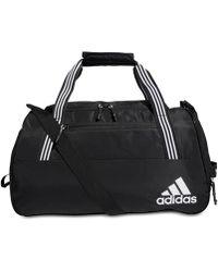 adidas Squad 4 Duffel Bag - Black