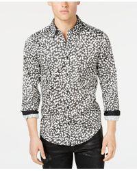 Guess - Luxe Ink-dot Shirt - Lyst