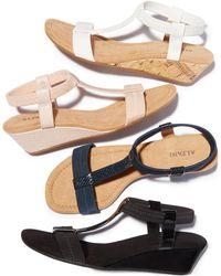 Alfani - Voyage Wedge Sandals - Lyst