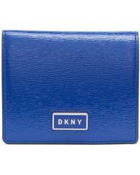 DKNY - Gigi Leather Flat Wallet, Created For Macy's - Lyst