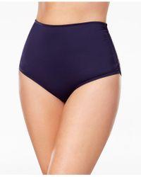 Anne Cole - Plus Size High-waist Bikini Bottoms - Lyst