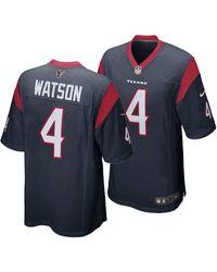 official photos 68e63 75f03 Nike Synthetic Deshaun Watson Houston Texans Limited Color ...