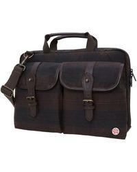 "Token Waxed Knickerbocker 15"" Laptop Bag - Brown"