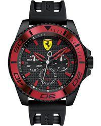 Ferrari - Men's Xx Kers Black Silicone Strap Watch 50mm 0830310 - Lyst