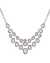 Nicole Miller Statement Necklace - Metallic