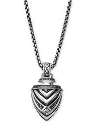 Scott Kay - Men's Arrow Pendant Necklace In Sterling Silver - Lyst