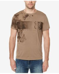 Buffalo David Bitton | Men's Splatter Logo-print T-shirt | Lyst