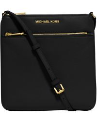 Michael Kors - Riley Small Pebbled Leather Messenger Bag - Lyst