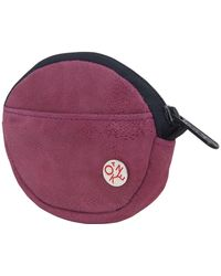 Token Leather Coin Purse - Red