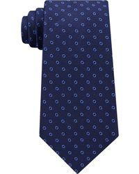 Michael Kors - Men's Textured Halo Dot Silk Tie - Lyst
