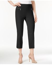 Style & Co. - Pull-on Cropped Pants - Lyst
