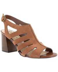 Bella Vita Gladiator Sandals - Brown