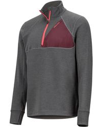 Marmot - Hanging Rock Colorblocked Half-zip Sweatshirt - Lyst
