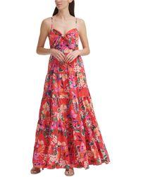 Eliza J Floral-print Maxi Dress - Multicolour