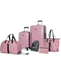 Steve Madden - Signature 6-pc. Luggage Set - Lyst