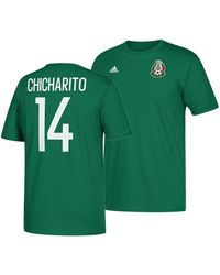 promo code 32a71 d0027 adidas Synthetic Mexico National Team Authentic Home Jersey ...