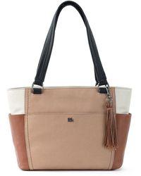 The Sak Ashby Leather Satchel - Multicolour