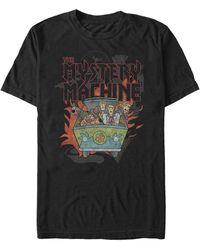 Fifth Sun Metal Mystery Machine Short Sleeve T-shirt - Black